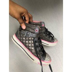 Twinkle Toes High Top Girls Sneakers